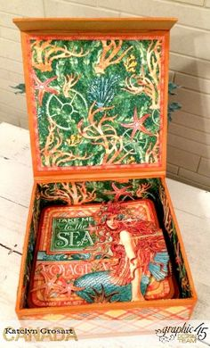 Voyage Beneath the Sea Box and Card Set by Katelyn