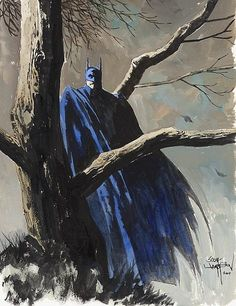 Scott Hampton Batman Comic Art