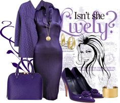 """""""Elegance In Purple"""" by victoria1961notags on Polyvore"""