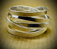 Handmade in any finger size. Order online now. Free UK delivery. Red Gold, White Gold, Cuff Bracelets, Bangles, Contemporary Jewellery Designers, Free Ring, Free Uk, Ring Designs, Finger