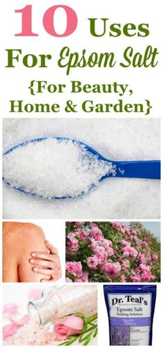 Epsom salt is one of those cool products that is frugal, eco-friendly, and has a ton of uses. No wonder our grandparents used it all the time! Here are 10 uses for Epsom salt that you can use too, including uses for beauty, home and garden. #ad