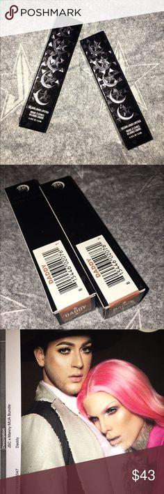 Jeffree Star + Manny Mua Liquid Lipsticks ONLY ONE LEFT!  SELLING CHEAPER $28 ON EBAY: https://www.ebay.com/itm/152566312127 /Daddy/ New/ 0.19 oz/ vegan + cruelty free/ Paraben + Gluten Free jeffree star cosmetics Makeup Lipstick