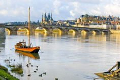While cycling France's Loire Valley, see lovely Blois, with a stunning Renaissance chateau formerly occupied by Louis XII