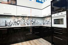 Image result for glamorized cream kitchens