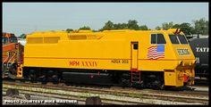 HXGX 203 Herzog Railway Services Modified at Saint Louis, Missouri by Mike Mautner Diesel, Service Maintenance, Rail Transport, Union Pacific Railroad, Rail Car, South Of The Border, Electric Locomotive, Vintage Artwork, Heavy Equipment