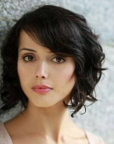 curly bob on thin hair with heart shaped face - Google Search