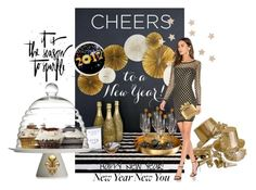 """""""HAPPY 2017 !!"""" by fashiongirl-26 ❤ liked on Polyvore featuring art"""