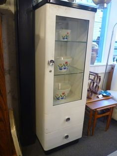 Vintage Medical Cabinet by Midcenturyville on Etsy, $750.00