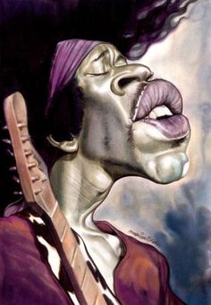 Jimi Hendrix FOLLOW THIS BOARD FOR GREAT CARICATURES OR ANY OF OUR OTHER CARICATURE BOARDS. WE HAVE A FEW SEPERATED BY THINGS LIKE ACTORS, MUSICIANS, POLITICS. SPORTS AND MORE...CHECK 'EM OUT!! Anthony Contorno Sr