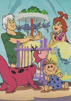 The Flintstones Hollyrock a Bye Baby   ... 1994 Return of The Flintstones Cards 43 - 49 'Hollyrock-A-Bye Baby