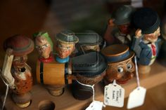 """Spotted in a shop window on East Genesee Street in Skaneateles, NY.    The Next Step: Picture of the Day: 10/20/12 - """"Wooden Expressions"""""""