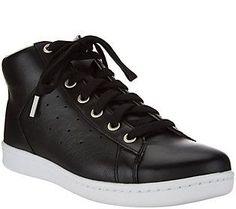 ED by Ellen Degeneres High TopLeather Sneakers - Camarillo