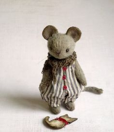 additional picture of Mouse Hercule. 9,5 cm (3,74inch)