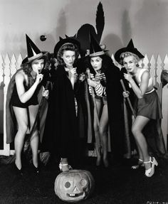 Vintage Holidays - Barbara Britton, Karin Booth, Ella Neal, and Eva...