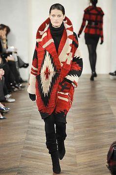 Ralph Lauren Fall 2008 Ready-to-Wear Fashion Show - Isabeli Fontana