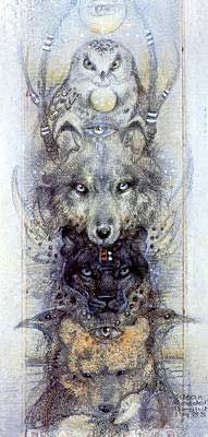 Totem (1988) by Susan Seddon Boulet WILD WOMAN SISTERHOOD™