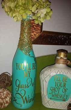 Image result for fall wine bottle crafts More