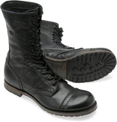 "WWII style jump boots. Great for a ""fresh from the front lines"" look."