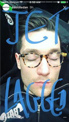 Jet lag and some pretty, sleepy eyelashes