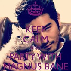 The Mortal Instruments Memes Magnus Bane Party