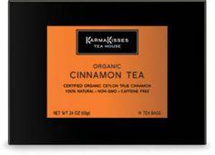 FREE Sample of Karma Kisses Organic Cinnamon Herbal Tea on http://www.icravefreebies.com/