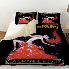 Thumbprintz Casino De Paris Duvet Cover