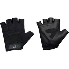Casall Exercise Glove ($36) ❤ liked on Polyvore featuring accessories, gloves, black, extras, accessories sport, sports fashion, womens-fashion, synthetic gloves, casall and palm gloves