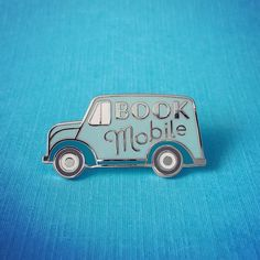 'Book Mobile' Pin (2 Colors!)