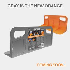 Introducing STAYHOLD™ GRAY! ... Coming Soon!