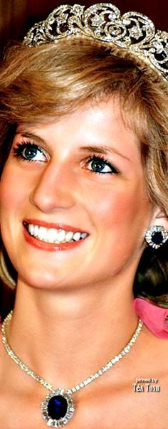 "❈Téa Tosh❈""The Spencer Tiara"" Diana...Princess of Wales Favorite Crown."