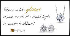 "It's time to glitter ladies! #diamonds #glitter #promotion"""