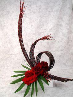 Office or Lobby Flowers    Photo Courtesy Cindy Anderson, AIFD, PFCI  www.CindyAndersonAIFD.com