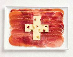 Swiss cheese flag. Good food, good people, good mountain biking were all easily found in our time in Switzerland.