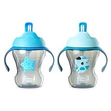 150ml Tommee Tippee Weaning Sippee Cup Bpa Free Age 4m Blue