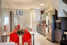 cozinha sala integrada simples - Pesquisa Google