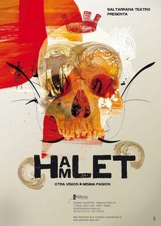 New Hamlet #poster #illustration