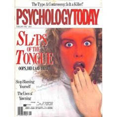 Cover Print of Psychology Today Magazine, February 1987 | $4.72