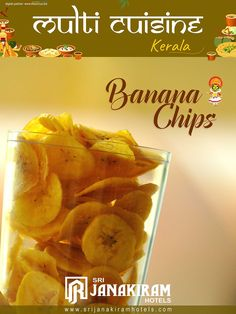 Banana Chips is undoubtedly the most popular Kerala snack for all occasion commonly available everywhere.