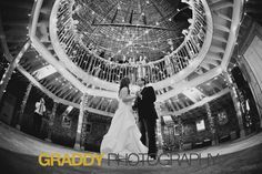 Father & daughter first dance at The Round Barn Farm in Red Wing, MN photographed by Graddy Photography