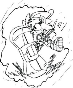 50 Best Sonic Coloring Book Images Hedgehog Colors Coloring