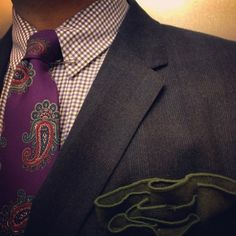Paul Smith shirt-Etro tie-Shipley & Halmos jacket -Alexander Olch pocket square-Tom Ford collar pin