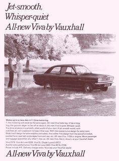 Ads for British Cars 1960s Vauxhall Viva.