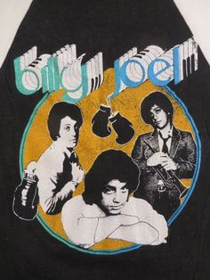 BILLY JOEL 1979 tour T SHIRT