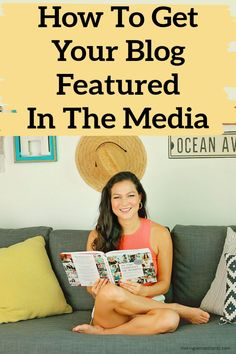 How To Get Your Blog Featured In The Media. Here's how to grow your blog, get more page views to your website, and reach more people. Make Money Blogging, Make Money Online, How To Make Money, Blog Topics, Blog Sites, How To Start A Blog, How To Find Out, Women In Leadership, Gifts For Readers