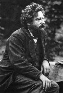 William Morris (1834–1896) was English textile designer, poet, novelist, translator, and socialist activist.