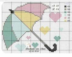 Baby Embroidery, Hand Embroidery Patterns, Cross Stitch Patterns, Alpha Patterns, Graph Paper, Kids Rugs, Knitting, Easy Cross Stitch, Cross Stitch Love
