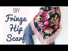 DIY Fringe Hip Scarf for Belly Dance - SPARKLY BELLY