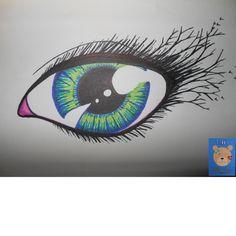 Eye designed it    tattoo drawign design    teddynumnums