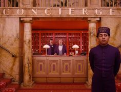 Adore Wes Anderson's movies - The Grand Budapest Hotel was pure fun.
