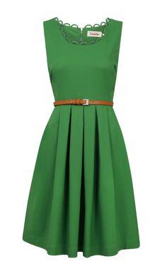 Louche Noviaz Green Dress, Joy